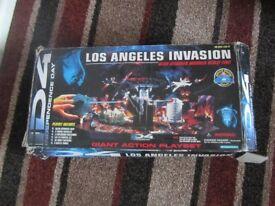 "I.D 4 ""los angeles invasion"".....play-set"