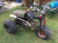125cc thump star trike