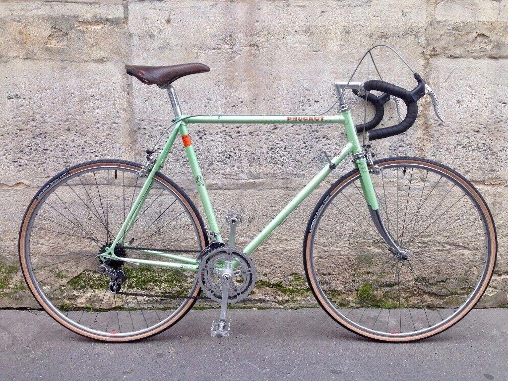 peugeot 1980 racing bike road gears france bicycles 57cm