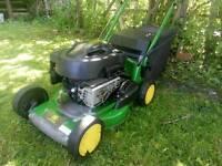 John deere r43v petrol lawnmower