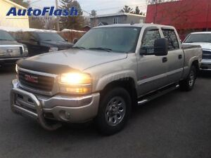 2006 GMC SIERRA 1500HD SLT Crew-cab * Cuir/leather * Heavy-duty
