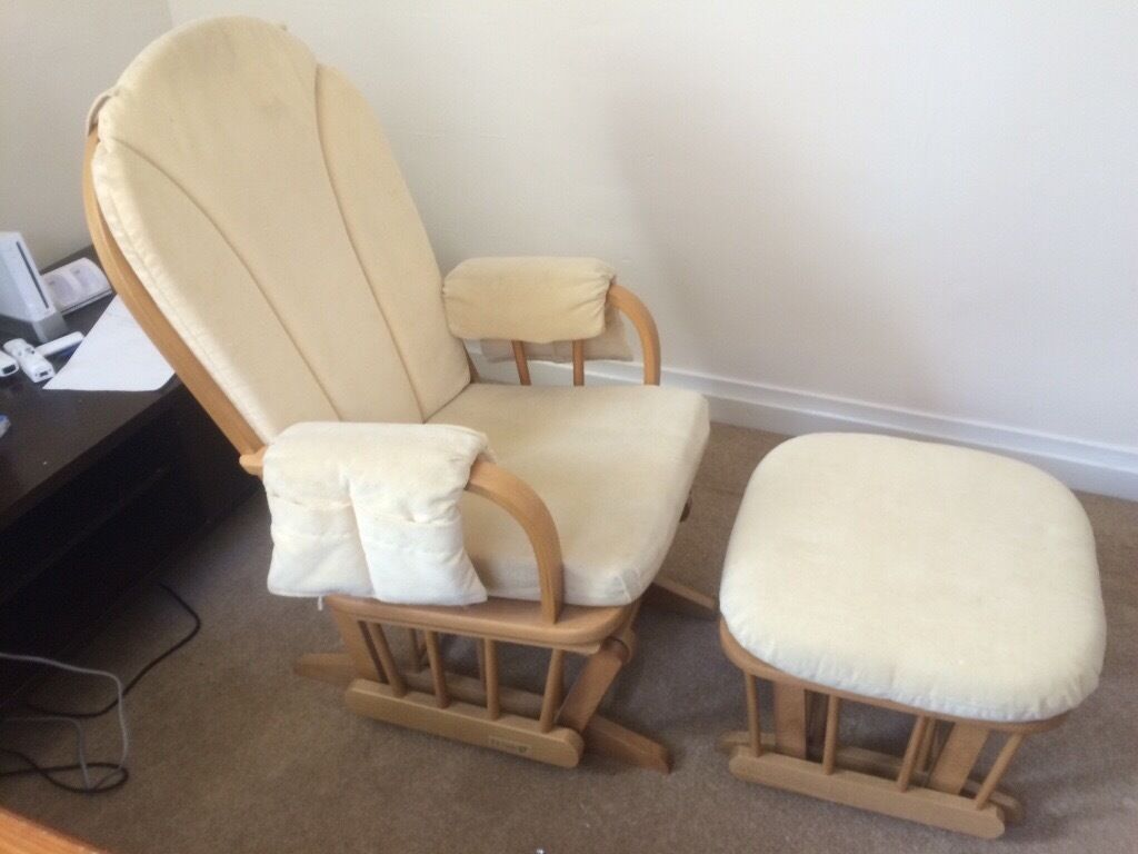 dutailier glider nursery chair glider stool in godalming surrey