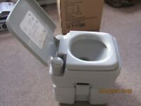 PORTABLE TOILET 20L GOOD CLEAN CONDITION WITH FLUSH