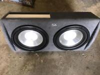Fli twin sub box and amp
