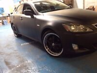 Lexus IS220D SE 175bhp 2.2 Litre Diesel 2006 Modified Unique Car With Private Plate