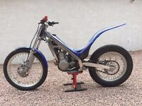 Sherco 290. 2001(with '05 stickers), recently serviced