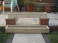 Decking Planters/Window Box/Herb Trough