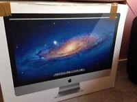 "2011 iMac 27"" 4GB RAM, 1TBHDD - Small Fault"