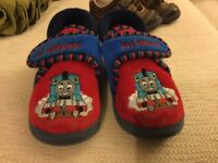 7G Clarks All Aboard Thomas Doodle Slippers