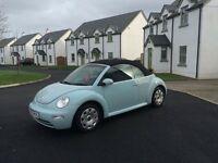 Convertable vw beetle