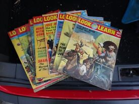 Vintage Look and Learn Comics from 1971