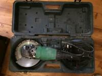 "Hitachi and makita 9"" grinder"