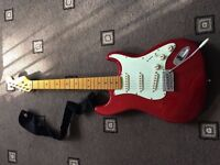 Electric Guitar & Amplifier