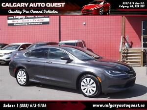 2015 Chrysler 200 LX EASY FINANCING AVAILABLE / MUST SEE