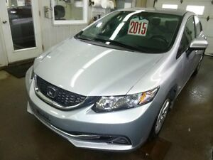 2015 Honda Civic Berline LX Camera de recul bluetooth sièges cha