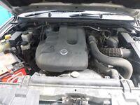 2006-2008 NISSAN NAVARA 2.5 TD DCi D40 EURO 3 USED ENGINE BARE ENGINE 78,000 MILEAGE