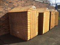 6 OF 6 X 4 HOMEBASE EX DISPLAY SHEDS CAN DELIVER AT COST
