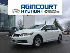 2015 Honda Civic LX/BACKUP CAM/HEATED SEATS/ONLY 54256KMS