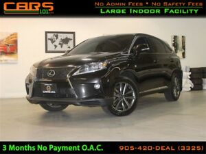 2015 Lexus RX 350 F Sport| Red Interior|Tiptronic|Heads up Displ