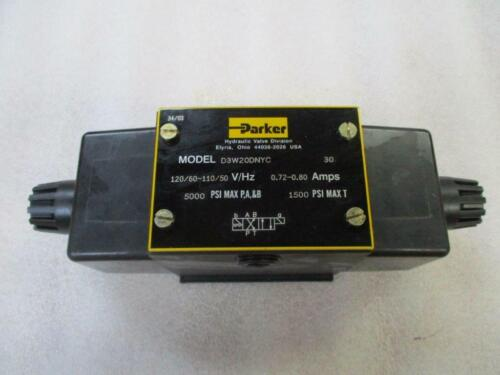 Parker Hydraulic D3W20DNYC Double Solenoid Valve NEW