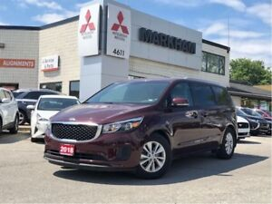 2018 Kia Sedona LX, Bluetooth, Reverse Camera, Heated Seats