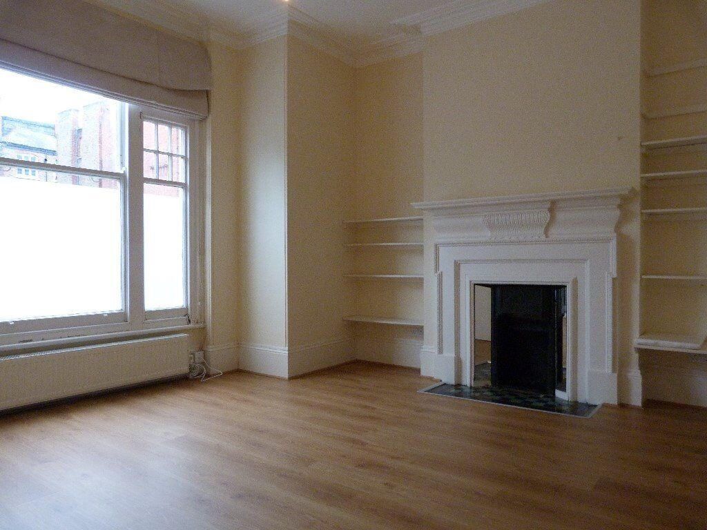 Studio flat with separate kitchen, Fulham, SW6