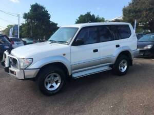 Lovely Prado 8 Seat Finance? We say Yes to 2nd Chances- $800 Dep