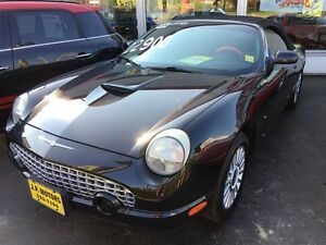 2004 Ford Thunderbird Premium, Automatic, Leather, Convertible,