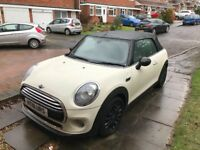 Mini Convertible 2016, white, pepper pack, petrol, 14000 miles