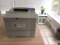 HP Laserjet 4050N Printer (Black & white, network printer)