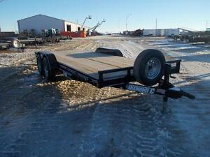 2017 Diamond C RC 18' Flatdeck Car Hauler Trailer