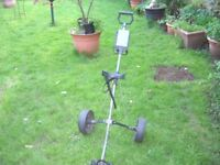 Donnay golf trolley, good condition.