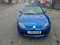 1.8 MG TF 2003 YEAR PETROL 86000 MILES HISTORY MOT 3/6/2019 HPI CLEAR 2 OWNERS 2 X KEYS DRIVES GOOD