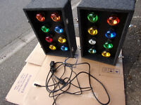 Disco Lights, SOUNDLAB G005FC RETRO LIGHT BOX- 16 LAMP -Effect Lights