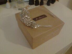 REDUCED - Gracie Bridal Headband (Jo Barnes)