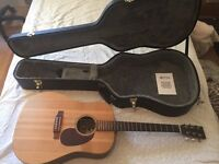Martin DX1R (Rare to find Rosewood model) Acoustic w/ Hardcase and accessories. Perfect Condition