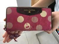 Juicy Couture Purse Original Designer Real Women's Pink and Leather Handbag