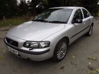 2003 03 VOLVO S60 2.4T SE GEARTRONIC MECHANICALLY A1 FULL HISTORY FULL MOT BLACK LEATHER PX SWAPS