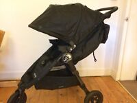Baby jogger City Mini GT stroller / pushchair - Nov 2015 model - all black