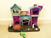 Matchbox Haunted House with Car