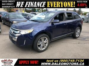 2011 Ford Edge Limited| LEATHER| MEMORY/HEATED SEATS| BACKUP CAM