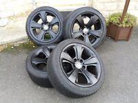 BMW 17inch alloys + Dunlop winter tyres 1 series / 3 series Z4 X3