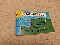 Vintage Official Guide to Barnstaple circa 1964