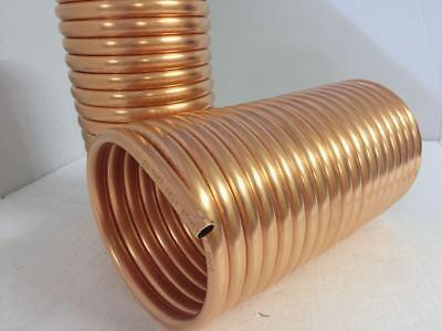 Espiral De Cobre 15x1mm Para Tubo de Estufa 130mm De 10m Con...