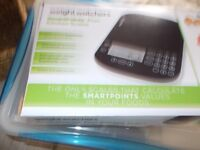 Weight watchers scales, Pro points unused