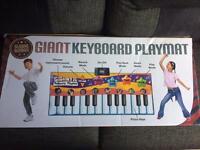 Floor keyboard