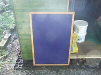 Wood and Felt Notice Board - FREE