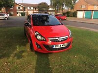 Vauxhall corsa eco limited edition