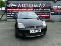 56 plate FORD FIESTA 1.25 STYLE 3DR IN PANTHER BLACK