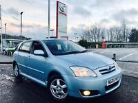**DIRECT TOYOTA DLR** TOYOTA COROLLA 1.4 D4-D T3 + FULLY SERVICED ANNUALLY + NEW DISKS + 1 OAP OWNER